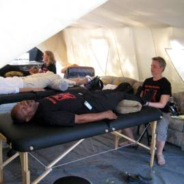 Craniosacral therapy in response to Haitian earthquake.