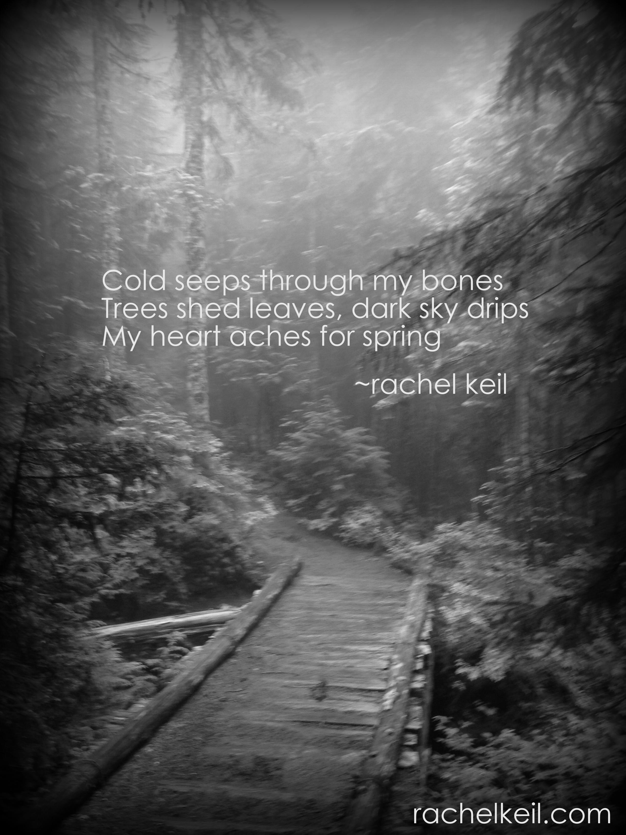 Aching For Spring-Blog-Haiku